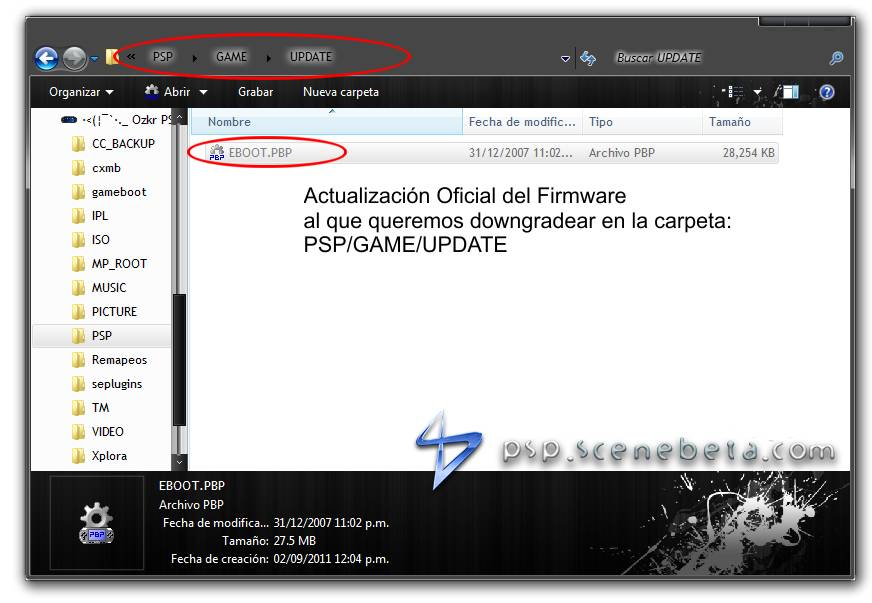 aplicacion tuenti para psp 3000