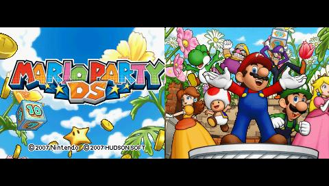 Gameplay Mario Party DS