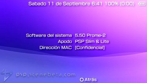 descargar parche custom firmware 5.50 prometheus-4 v1