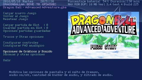 Unofficial gpSP Kai | PSP SceneBeta com