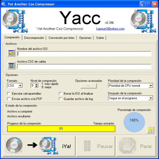 Yacc: Yet Another CSO Compressor | PSP SceneBeta com