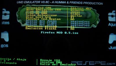 umd emulator v0 8c