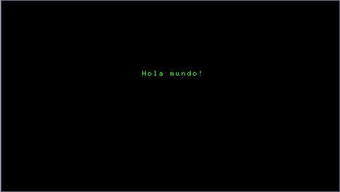 [tuto 2]Mostrando cosas por pantalla: Hola Mundo! Holamundo2nm