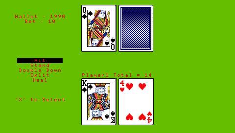Blackjack cuenta cartas