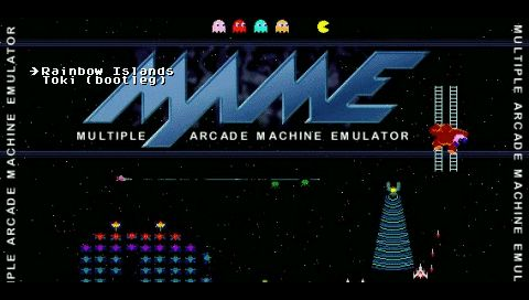 PSP MAME4ALL | PSP SceneBeta com