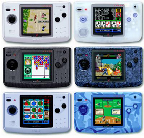 Neo Geo Pocket Color Modelos